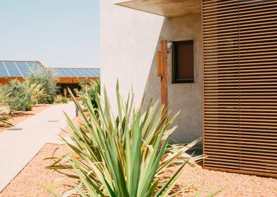 Jardin sec et esprit méditerranéen