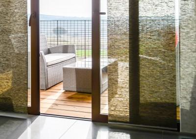 Nos gîtes disposent d'une terrasse ensoleillée avec une vue entièrement dégagée