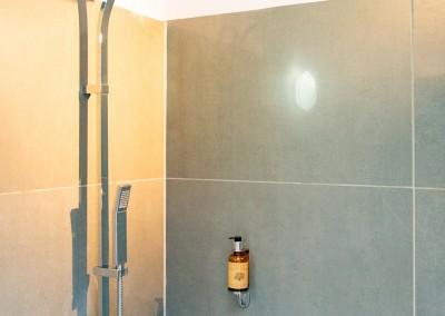 Nos gîtes possèdent une salle de bain privative avec douche