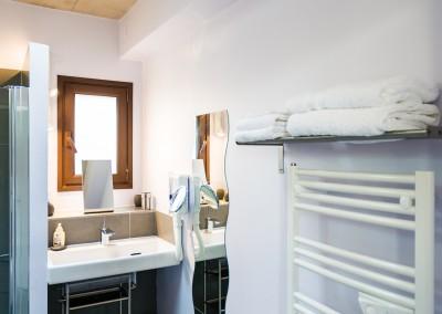 Nos salles de bains sont équipées de tout le nécessaire pour vos vacances