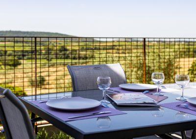 Terrasse et patio sans vis à vis pour des déjeuners et des diners au calme